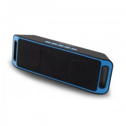 Ηχείο Bluetooth 6W Hands-Free & w/FM Radio Μαύρο/Μπλε EP126KB